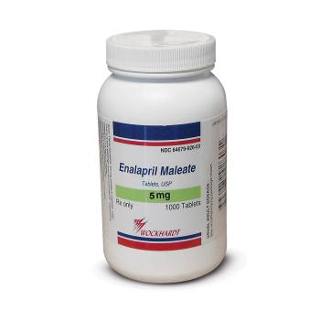 RX ENALAPRIL MALEATE 5 MG 1000 TABS