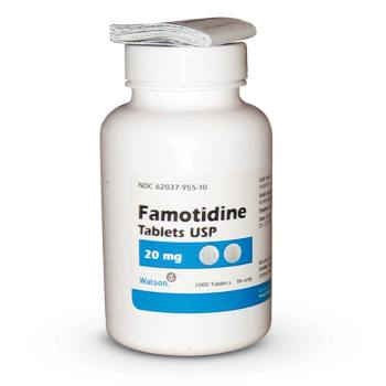 RX FAMOTIDINE 20MG 1000 TABLETS