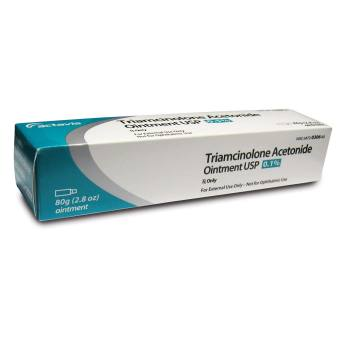 RX TRIAMCINOLONE OINTMENT 0.1% 80GM