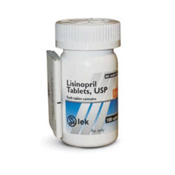 RX LISINOPRIL 5MG 100 TABLETS