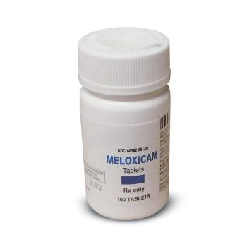 RX MELOXICAM 7.5MG, 100TABLETS