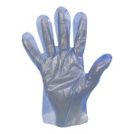 GLOVE,BLUE QUICK FIT FOOD HANDLER GLOVE, 2000/BOX
