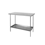 TABLE, TREATMENT, VSSI, ON LEGS, W/O DRAWER