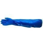 GLOVE,GAUNTLET,PVC FULLY COATED,SIZE 9,PAIR