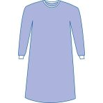 GOWN,STRAIGHT BACK,SONTARA,NON-STERILE,XL,60 EA/CS