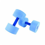 BAR, HAND AQUATIC EXERCISE CANDO BLUE,PAIR