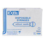 SYRINGE,10-12CC, LS, 100/BOX, EXEL