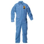 COVERALL,ZIP FRONT,BLUE,MEDIUM, 24/CASE