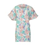 TUNIC, WATERCOLOR CORAL, EASY-OUT, WOMEN'S, X-LARGE