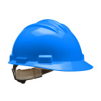 HARD HAT,PACIFIC BLUE,BULLARD,RATCHET,EACH