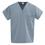 100% Cotton Unisex Reversible V-Neck Top