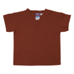 SHIRT,KIDS SCRUB SHIRT,BURNT ORANGE,MEDIUM,EACH
