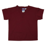 SHIRT,KIDS SCRUB SHIRT,CRIMSON,MEDIUM,EACH