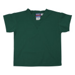 SHIRT,KIDS SCRUB SHIRT,HUNTER GREEN,MEDIUM,EACH
