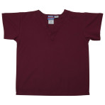 SHIRT,KIDS SCRUB SHIRT,MAROON,LARGE,EACH