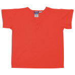 SHIRT,KIDS SCRUB SHIRT,ORANGE,LARGE,EACH