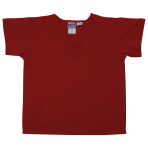 SHIRT,KIDS SCRUB SHIRT,RED,LARGE,EACH