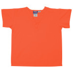 SHIRT,KIDS SCRUB SHIRT,LGT ORANGE,LARGE,EACH