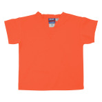 SHIRT,KIDS SCRUB SHIRT,LGT ORANGE,MEDIUM,EACH
