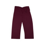 PANTS,KIDS SCRUB PANTS,MAROON,MEDIUM,EACH