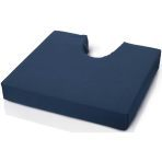 "CUSHION,FOAM W/COCCYX CUT-OUT,18X16X3"",EACH"