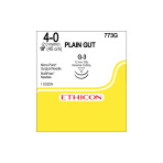"SUTURE, PLAIN GUT, 4-0, G-3, 18"", 12/BX"