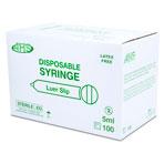 SYRINGE,5CC,L/S,100/BOX