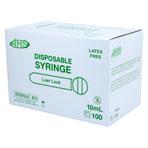 SYRINGE,10CC L/L,100/BX