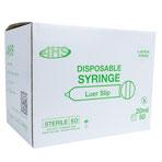 SYRINGES,20CC,LUER SLIP,50/BOX