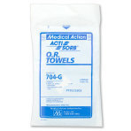 TOWEL,O.R. STERILE,COTTON, 4/PACK
