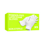 GLOVE,LATEX,P/F,X-SMALL,BULK,1000/CS