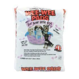 Wee-Wee Pads For Little Dogs, 16.5