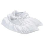 SHOE COVER,POLY COATED,PPSB,WHITE,SIZE LARGE,1000/CS