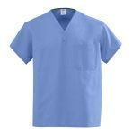 SHIRT,SCRUBS,CIEL BLUE,XSMALL,EACH