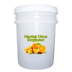 CLEANER,DEGREASER,NEUTRAL CITRUS,5 GALLON PAIL