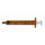 Syringe Oral 1Ml Amber 100 Ea/Bx