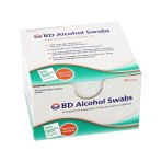 """SWAB ALCOHOL REGULAR 1"""" X 1"""" 100 E,1200 EA/CS"""