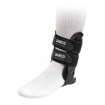 BRACE,ANKLE,BODY ARMOR VARIO,DARCO,LEFT,REGULAR