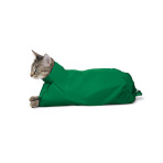 SACK,CAT,SMALL CAT SACK FOR CATS - GREEN