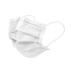 MASK,FACE,CHILD SIZE,EARLOOPS,WHITE,600/CS