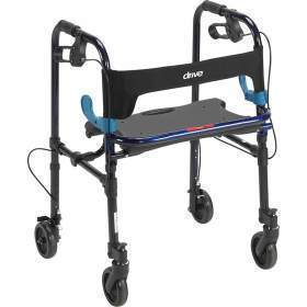 ROLLATOR,CLEVER LITE,FLAME BLUE,5IN CASTERS,ADULT