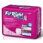 """UNDERWEAR,PINK,PROTECTIVE,FITRIGHT,MED,28-40"""",20/BAG"""