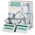 BIOFREEZE, RELIVER, PAIN, GEL PACK 3ML, 1000 EACH/CASE