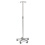 IV STAND,DELUXE,5 LEG,4 HOOK,EACH