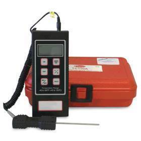 Digital Thermometer Battery Unit with probe