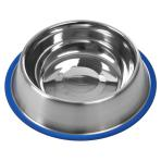 Non-Tip Stainless Steel Bowls 8oz (1/2 pint)