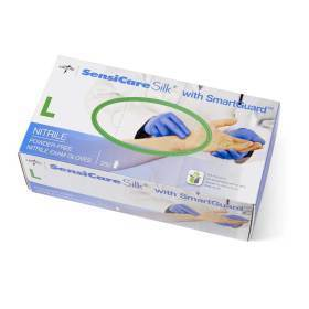GLOVES,NITRILE,SENSICARE SILK,LARGE,250/BOX