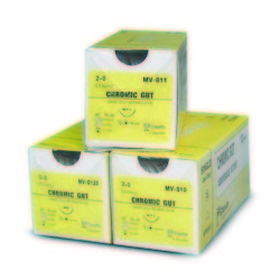 Chromic Gut Suture 3-0 NFS-2 12/bx