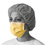 Isolation Face Mask with Earloops, Yellow (case of 300)
