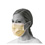 Isolation Face Mask with Earloops, Yellow (box of 50)
